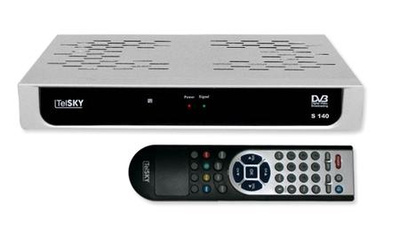 [MeinPaket] OHA Deals! DVB S Receiver: TelSKY S 140 für 17,55€ inkl. Versand