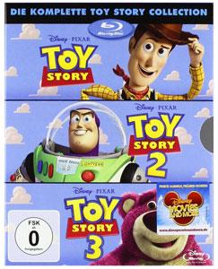 Toy Story 1 3 auf Blu Ray für 13,18€