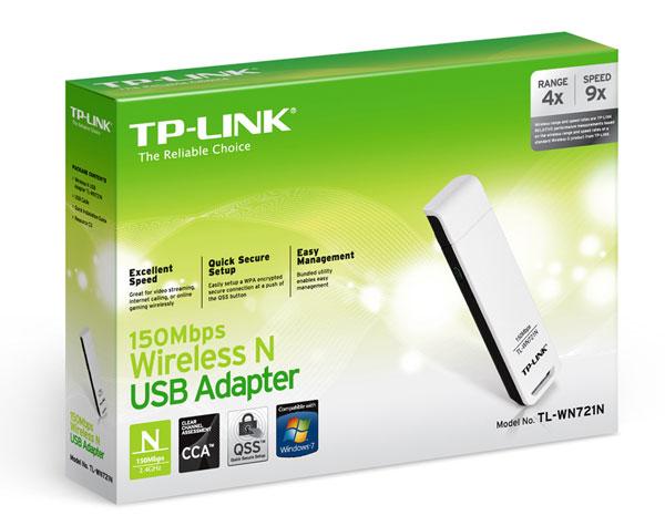 WLAN Stick: TP Link TL WN721N für 5,90€ inkl. Versand