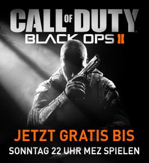 [Steam] Call of Duty: Black Ops II bis Sonntag kostenlos spielen