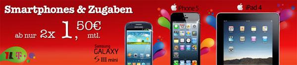 Apple iPhone 5 für effektiv 525,60€   dank 2 Schubladenverträgen von eteleon