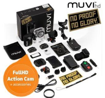 [iBOOD] Action Kamera: Veho MUVI HD 1080p mit 1,5 LCD und Zubehör inkl. Versand 155,90€ (Vergleich 245€)