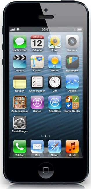 [Logitel] Update! Knaller: iPhone 5 (16GB) mit Vodafone Red M, Junge Leute Vertrag, (1GB Datenflat) nur 37,91€ monatl.