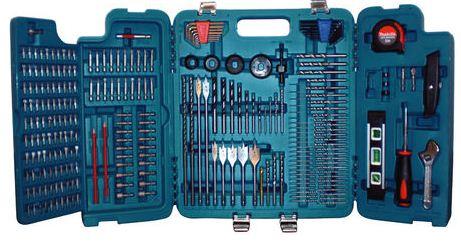 Makita P 67692, 256 Teile Werkzeugsortiment (Bits, Bohrer) für 49,90€