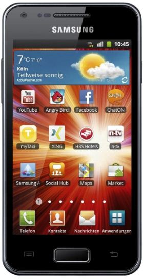 [ebay Wow] Android Smartphone: Samsung I9070 Galaxy S Advance NFC 8GB, inkl. Versand 219€