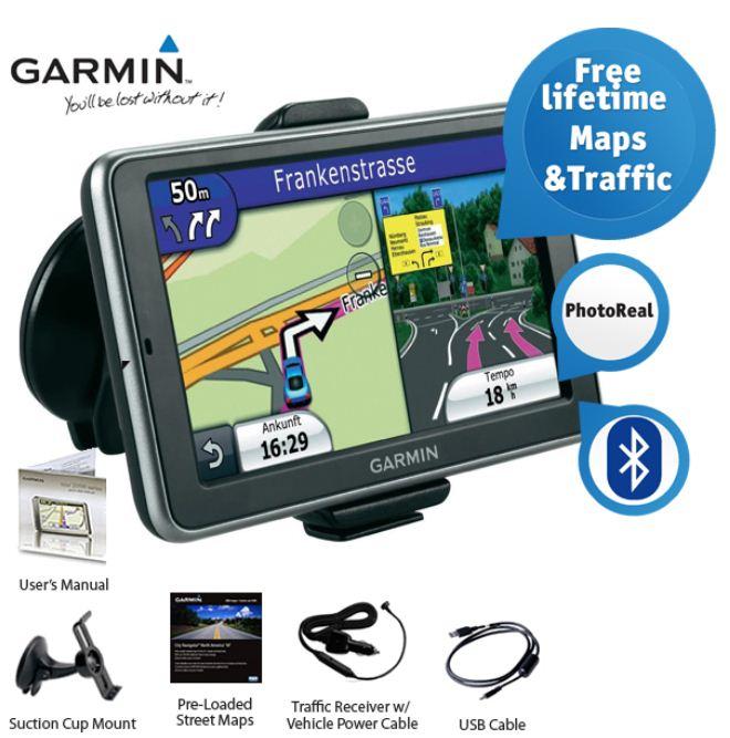 [iBOOD] Bluetooth Navi: Garmin nüvi 2460LMT mit 5 Zoll und lebenslangem Karten & Traffic Update, inkl. Versand 145,90€