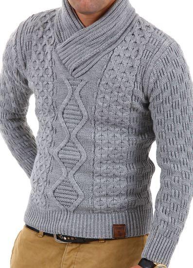 [ebay Wow] Herrenpullover: Tazzio Grobstrick 2 Modelle (11 Farben, Größen S   XXL) inkl. Versand 29,95€