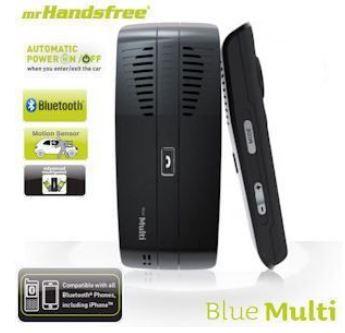 [iBOOD] Autofreisprechanlage mit Bewegungssensor: MrHandsfree Blue Multi Bluetooth inkl. Versand 35,90€