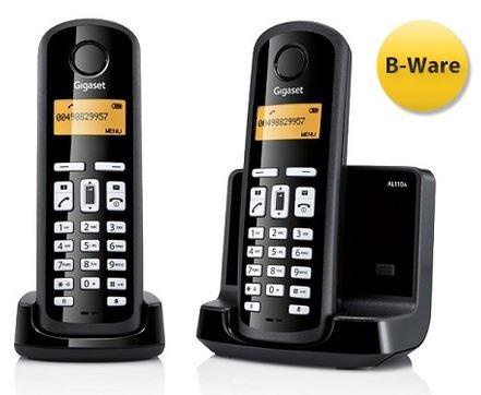 [MeinPaket] DECT Schnurlos Telefon: GIGASET AL110A mit AB und 2ten Handteil inkl. nur Versand 22,49€