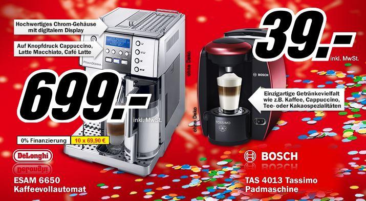 [MediaMarkt] Faschingsknaller ab 20 Uhr: Knaller! Bosch Tassimo TAS 4013 nur 39€ (Vergleich 111€)!
