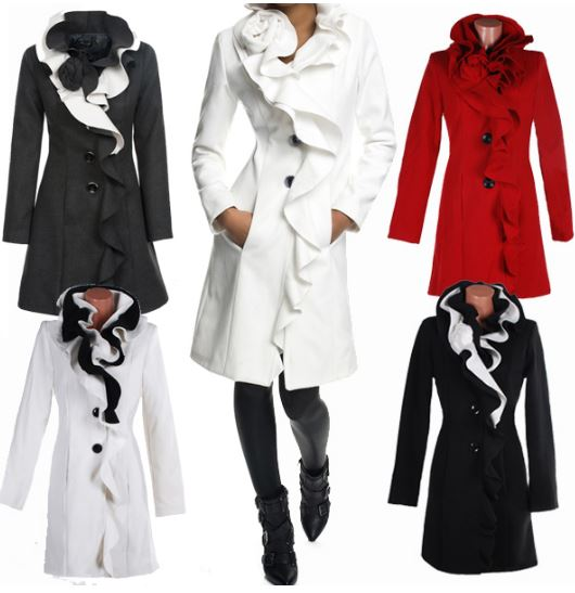 [ebay Wow] Damen Mantel: LAETICIA DREAMS, Größen XS bis XXL inkl. Versand 37,99€