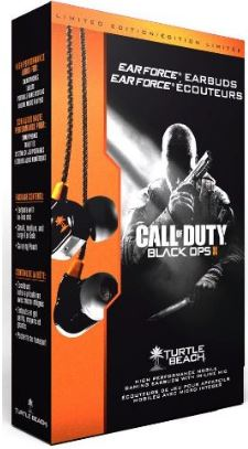 Update! Headset in ears und Gaming Headset: Turtle Beach Ear Force M1 Earbuds im Call of Duty Black Ops 2 Design, ab 18,69€