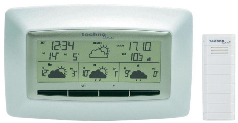 [ebay Wow] Satellitengestützte Funk Wetterstation: Techno Line WD 4005 (Vorhersage für 4 Tage) inkl. Versand 19,95€