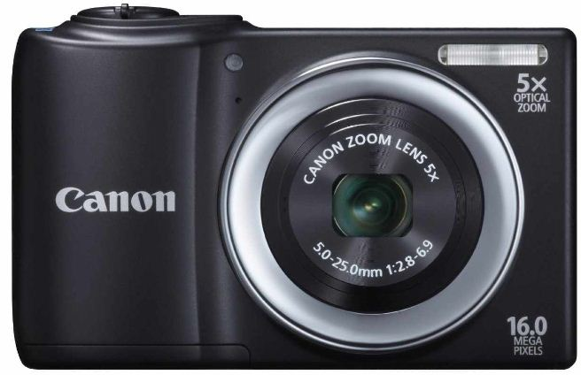 [MediaMarkt] 16 Digitalkamera: Canon PowerShot A810 (5 fach opt. Zoom, 6,9cm Display, bildstabilisiert) inkl. Versand 54,98€