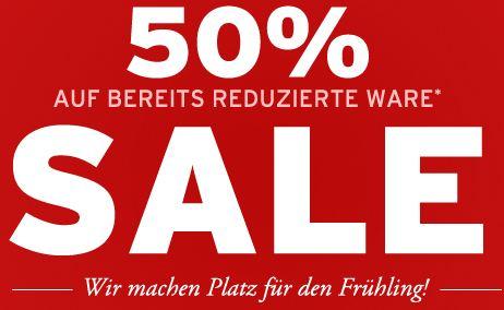 [Ernstings family] 50% Extra Rabatt auf Sale Ware + 10% Newsletter Gutschein!