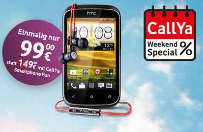 [Vodafone] Update! Weekend Special: HTC Desire C & inkl. BEATS Headset, inkl. Versand 99€ (Vergleich 199€)