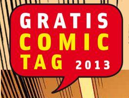 [Vorankündigung] Kostenlos: Gratis Comic Tag am 11. Mai 2013