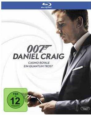 [CeDe] 2 Film Blu ray: 007   Casino Royale & Quantum Trost, inkl. Versand 10,49€