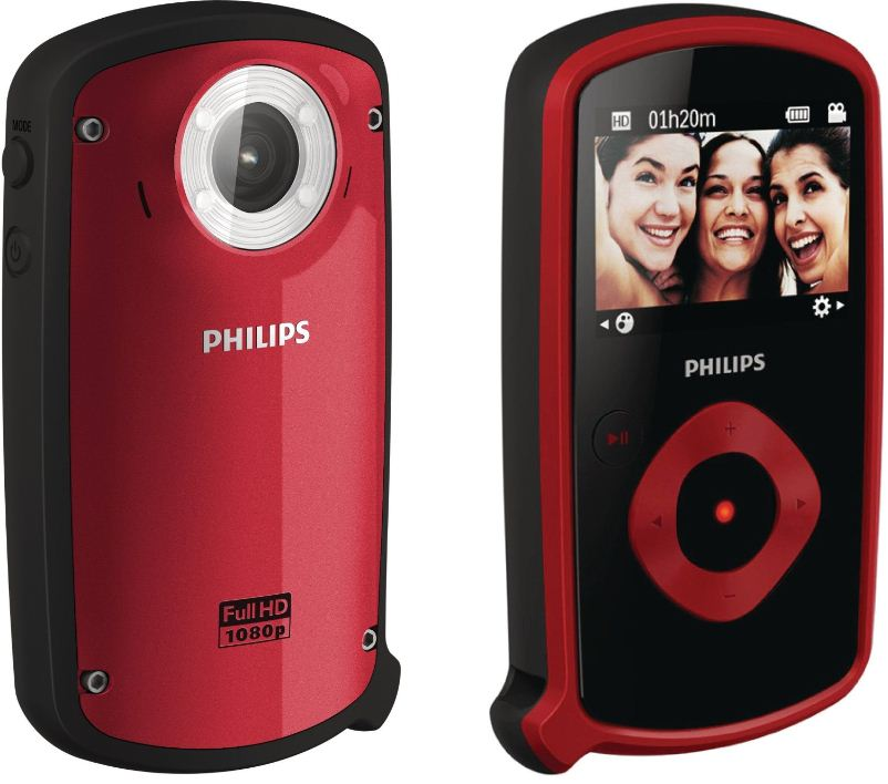 [ebay Wow] Update! Action HD Camcorder: Philips (5,1 cm (2 Zoll) Display, 5 fach digital Zoom, HDMI, USB 2.0) inkl. Versand 99€