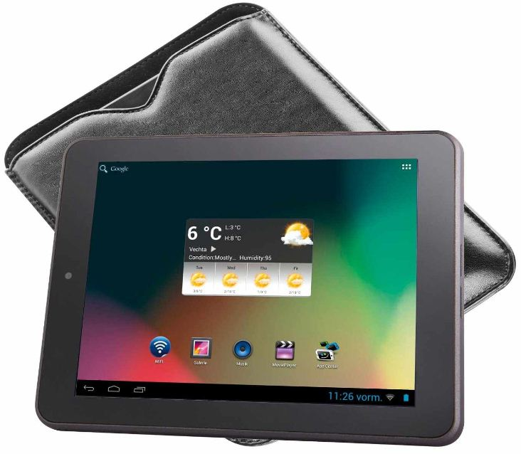 Intenso TAB 814   8 Zoll Android 4.1 Tablet PC, E Book Reader für 99€