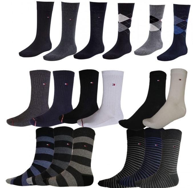 [ebay Wow] Herren o. Damen Socken: 4 Paar Tommy Hilfiger in schwarz, navy, grau, weiss (von 35 bis 46) inkl. Versand 19,99€