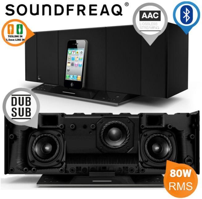 [iBOOD] Bluetooth Speaker Dock: Soundfreaq Sound Stack inkl. Versand 205,90€ (Vergleich 287€)