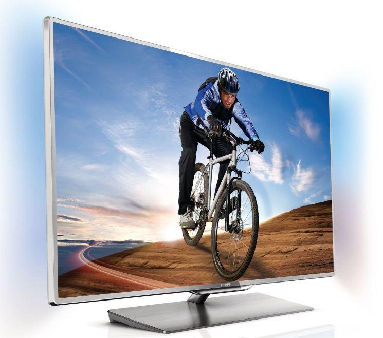 [Amazon] TV Deal des Tages: 46″er Philips 117 cm, Ambilight 3D, triple Tuner, CI+, WiFi, Smart TV, inkl. Versand 1.199€