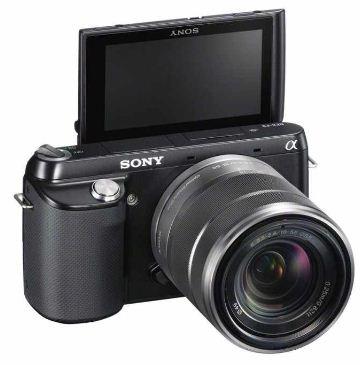 [comtech] 16MP Systemkamera: Sony NEX F3KB (3 Display, Full HD) Inkl. SEL 18 55mm Objektiv und Versand 321,47€