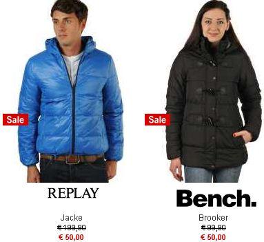 [Haburi] Knaller! Sale Aktion: 500 Jacken für 50€ auch hier mit Marken wie Maze, Tommy Hilfiger, Diesel, Pepe