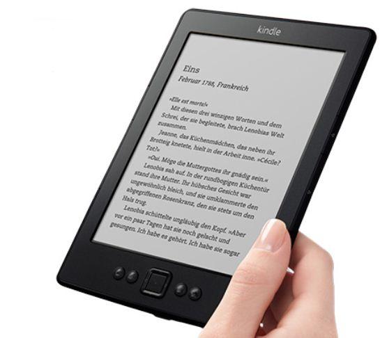 Update! 15€ Rabatt auf die Kindle eBook Lesegeräte!