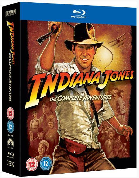 Indiana Jones: The Complete Adventures für 31,75€   5 Blu rays mit 4 Filmen Update!