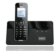 günstige Haustelefone bei BASE, z.B. ab 5€ für ein schnurlos Handteil!