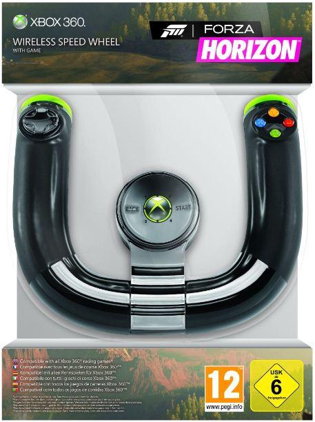 XBox Game Horizon & Wireless Speed Wheel für zusammen inkl. Versand nur 26,97€