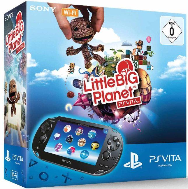 PlayStation Vita LittleBigPlanet und 4GB Speicherkarte nur 170€ PS