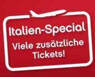airberlin Italien Spezial Hin  und Rückflüge ab 88€