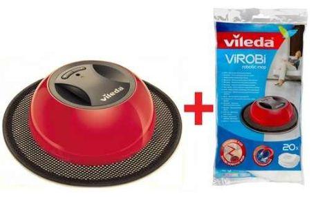 Update! Vileda Virobi für 29,99€   Akku Wischroboter