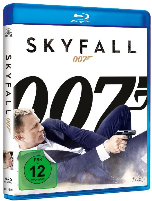 James Bond 007 Skyfall [Blu Ray] für 3,67€ (statt 9€)