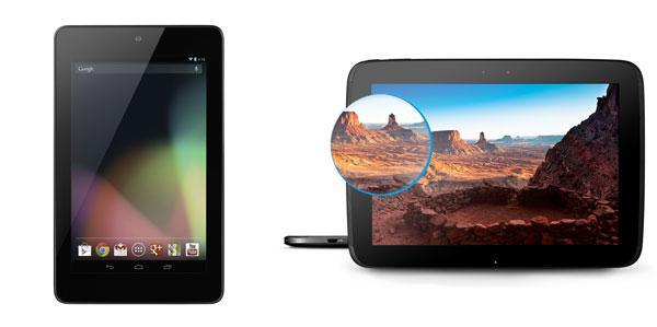 [Google Play Store] Wieder verfügbar: Google Nexus 4, Nexus 7 und Nexus 10
