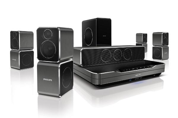 [redcoon] 5.1 Soundsystem mit 3D Blu ray Player und WLAN: Philips HTS9540 für 499€ inkl. Versand