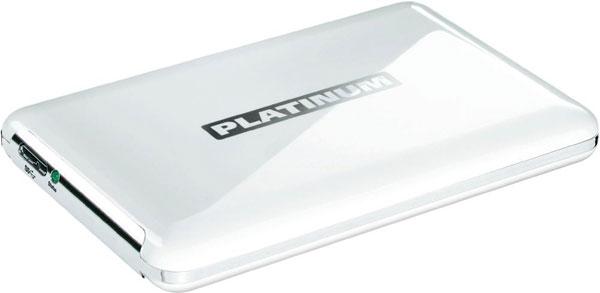Platinum MyDrive für 42,72€   2,5 500GB externe Festplatte mit USB 3.0