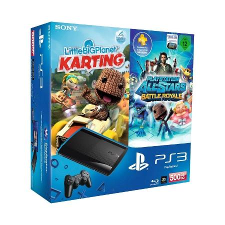 [Update] PlayStation 3 500GB + LBP Karting + Battle Royale für 249€ inkl. Versand
