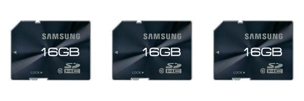 [Conrad] 3x 16GB Speicherkarte: Samsung SDHC (Class 10) für 19,85€ inkl. Versand