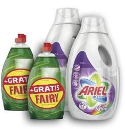 Ariel Flüssig Colour & Style Waschmittel bei Amazon kaufen + Fairy Original 450ml GRATIS dazu!