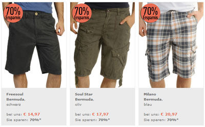 70% Sale bei dress for less und extra 15% Rabatt + 10€ Gutschein!