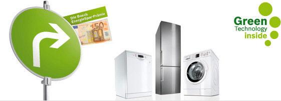 50€ Rabatt auf Bosch Haushaltsgeräte   Amazon Energiespar Prämie