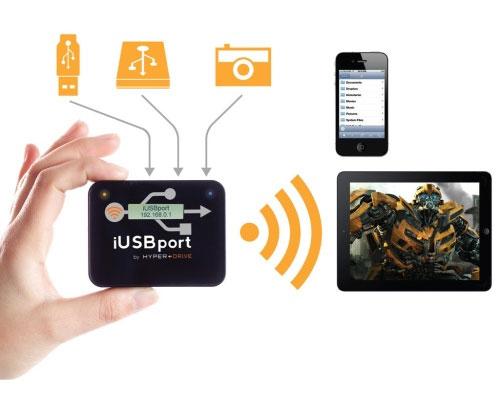 Hyper Drive iUSBport für 72,89€   WiFi USB Host Cloud Adapter