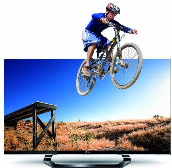 42er 3D TV, LG 42LM660S mit 107cm (Full HD, triple Tuner, Smart TV + vier 3D Brillen) inkl. Versand 679€