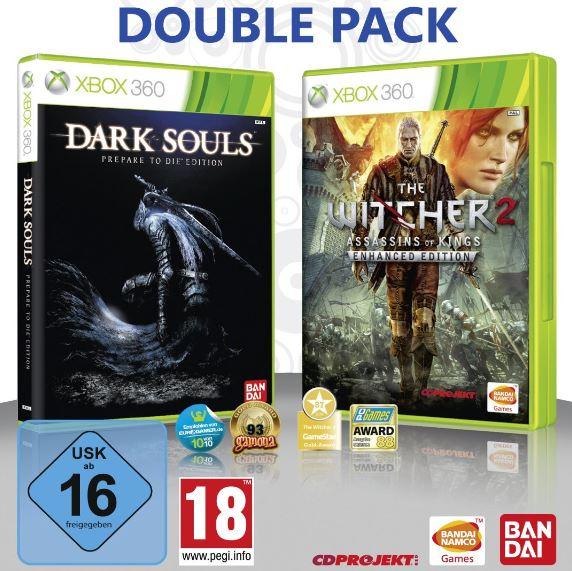 XBox Games Doppelpack mit DARK SOULS & THE WITCHER2 inkl. Versand nur 32,97€