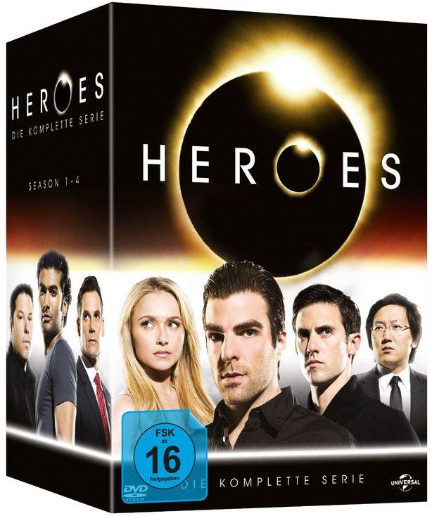 DVD Gesamtboxen   Heroes, A Team für je inkl. Versand 29,97€