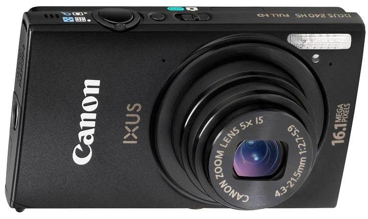 Canon IXUS 240 HS  16,1MP Digitalkamera, für 99,90€